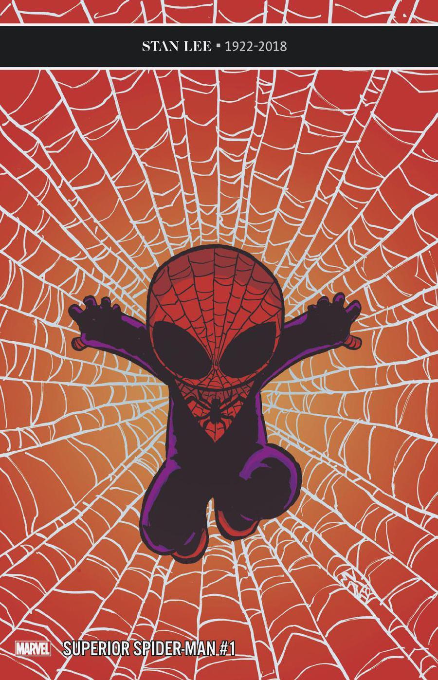 Superior Spider-Man Vol 2 #1 Cover C Variant Skottie Young Baby Cover (Spider-Geddon Tie-In)