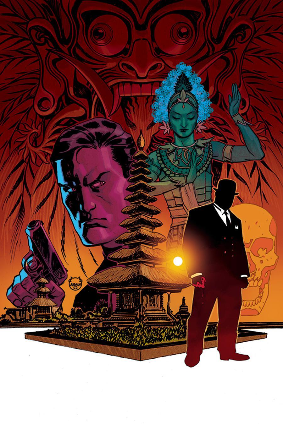 James Bond 007 #2 Cover E Incentive Dave Johnson Virgin Cover