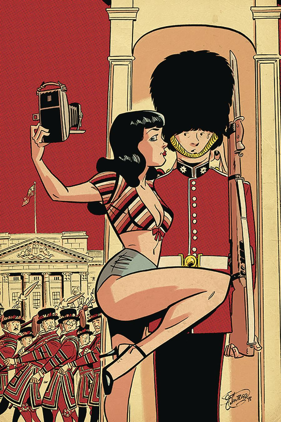 Bettie Page Vol 2 #2 Cover H Incentive Scott Chantler Virgin Cover