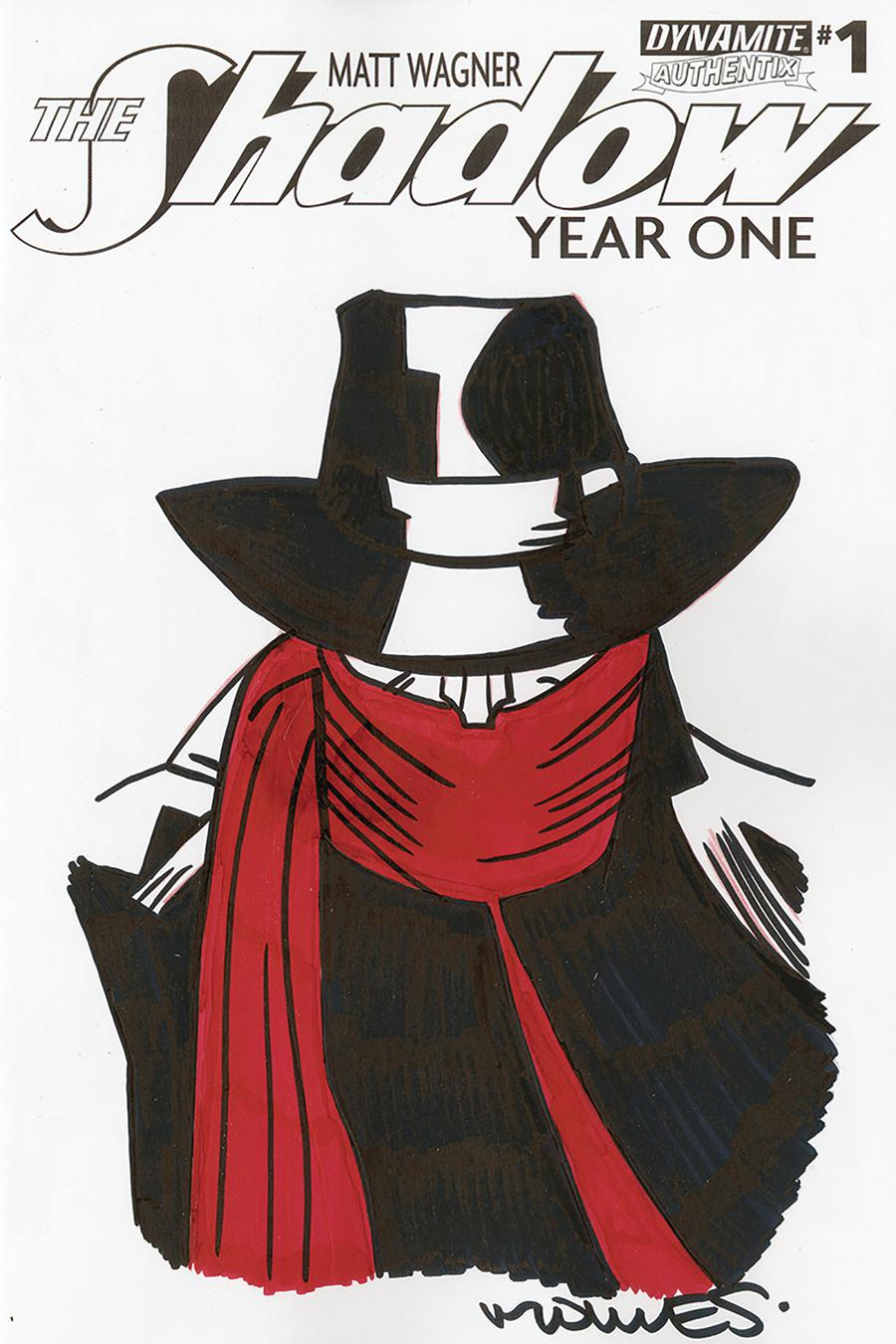 Shadow Year One #1 Cover Q Remarked By Wilfredo Torres