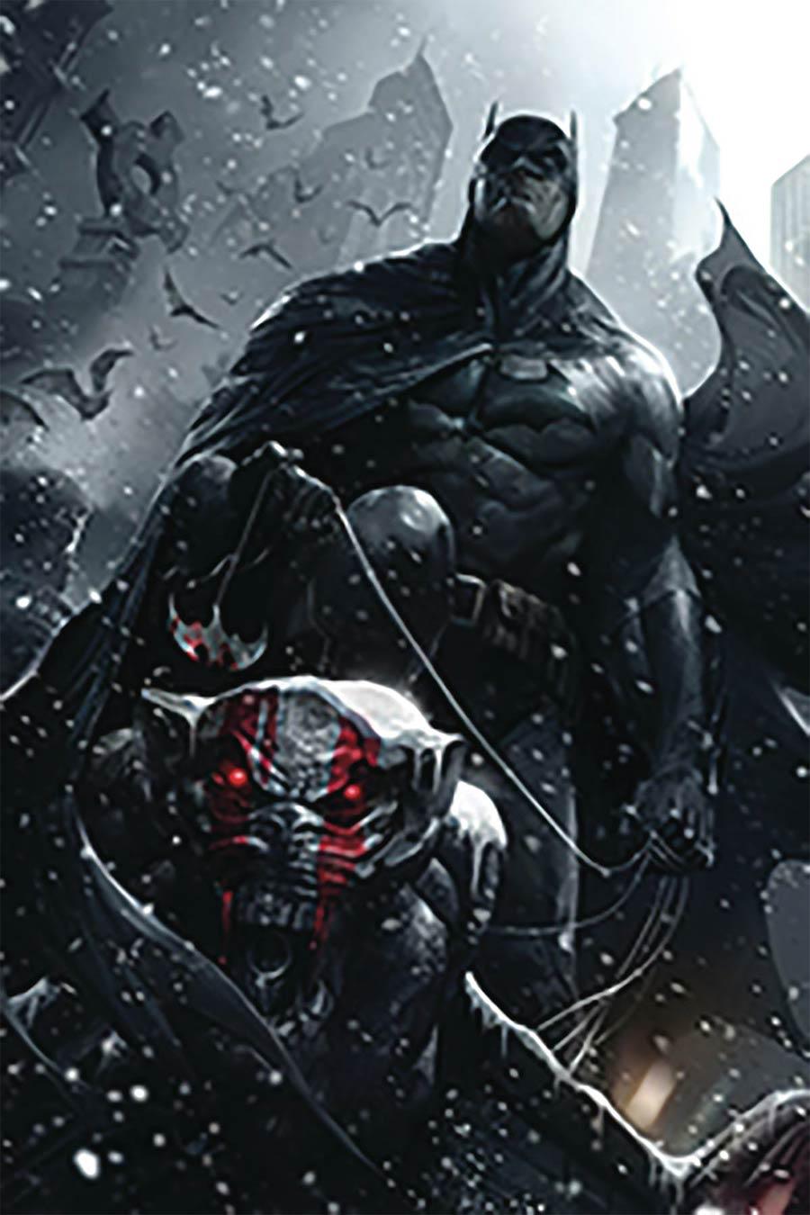 Batman Vol 3 #55 Cover C DF Variant Francesco Mattina Cover Signed By Tom King