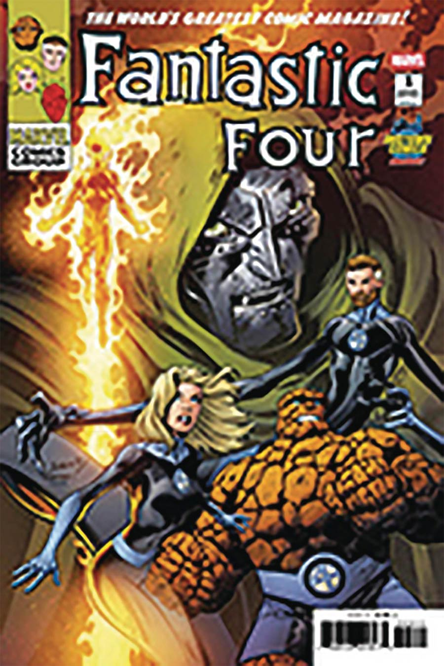 Fantastic Four Vol 6 #1 Cover Z-I DF Midtown Exclusive Mark Bagley Variant Cover Signed By Mark Bagley