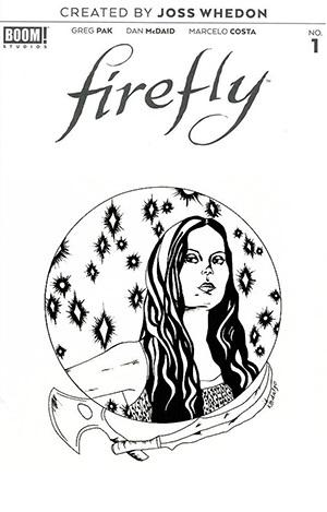 Firefly #1 Cover L DF Signed & Remarked By Katie Hidalgo