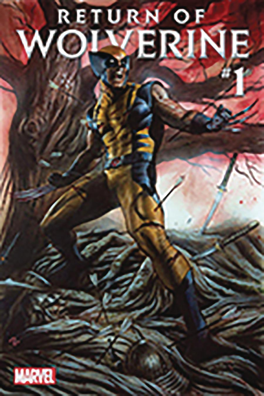 Return Of Wolverine #1 Cover Z-E DF CSA Exclusive Adi Granov Variant Cover Signed By Adi Granov