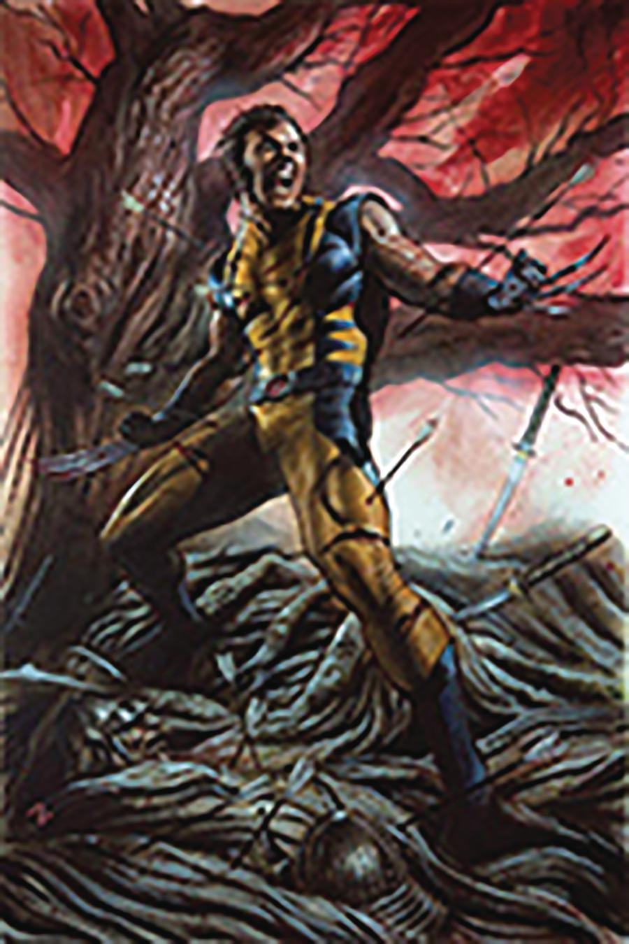 Return Of Wolverine #1 Cover Z-F DF CSA Exclusive Adi Granov Unmasked Variant Cover