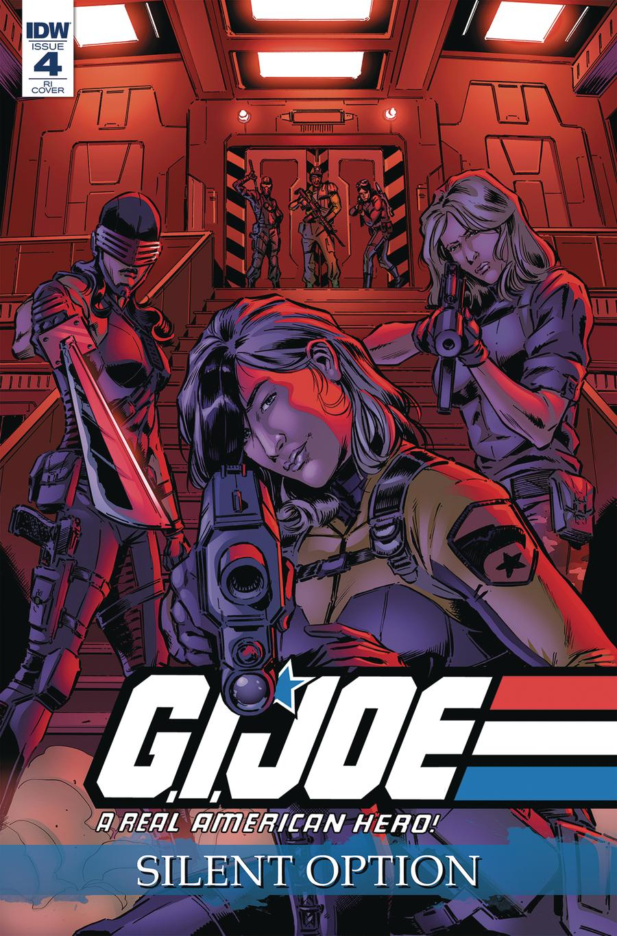 GI Joe A Real American Hero Silent Option #4 Cover C Incentive SL Gallant Variant Cover