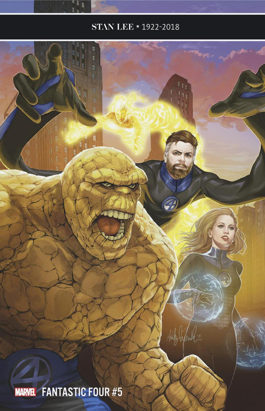 Fantastic Four Vol 6 #5 Cover E Incentive Ashley Witter Variant Cover