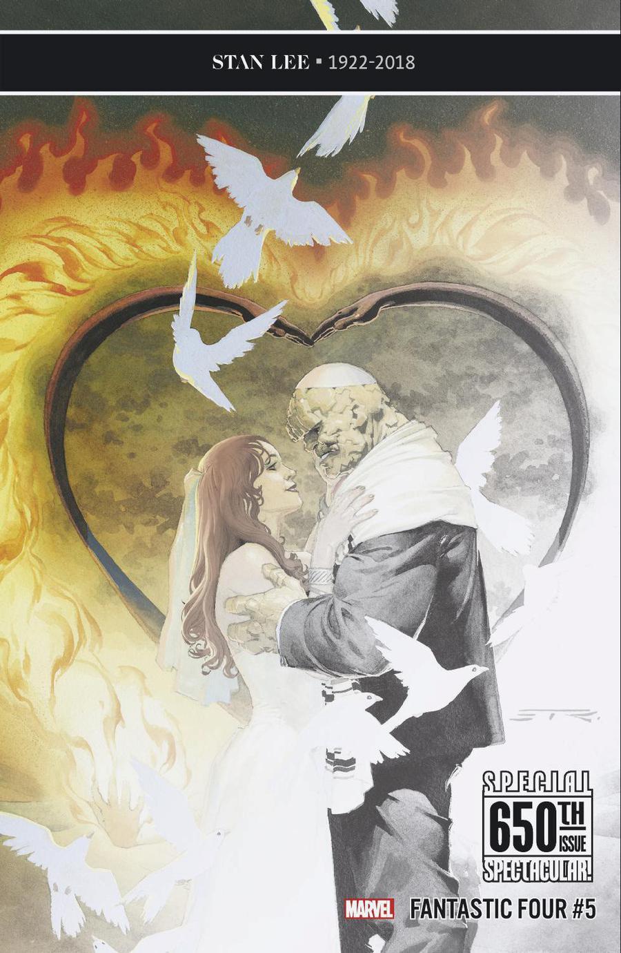 Fantastic Four Vol 6 #5 Cover K Incentive Esad Ribic Premiere Variant Cover