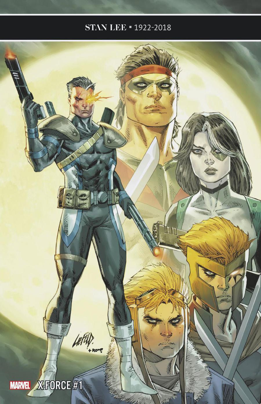 X-Force Vol 5 #1 Cover F Incentive Rob Liefeld Variant Cover