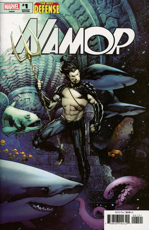 Defenders Namor #1 Cover D Incentive Chris Stevens Variant Cover