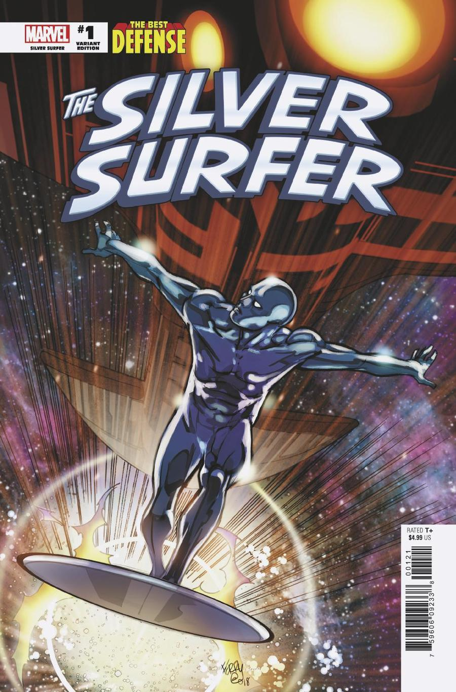 Defenders Silver Surfer #1 Cover D Incentive Pasqual Ferry Variant Cover