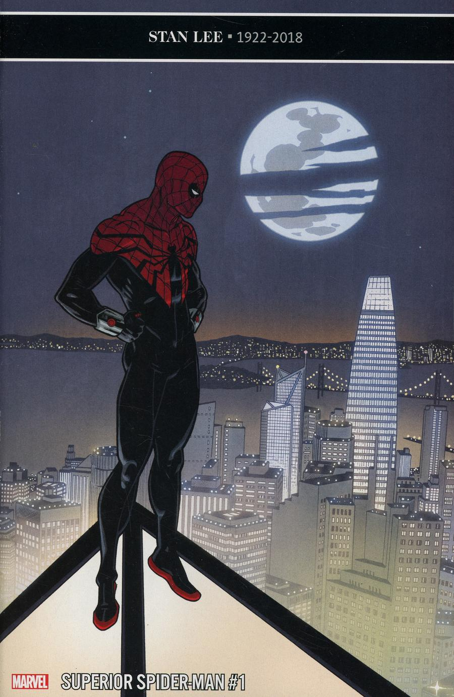 Superior Spider-Man Vol 2 #1 Cover D Incentive Mike Hawthorne Variant Cover (Spider-Geddon Tie-In)