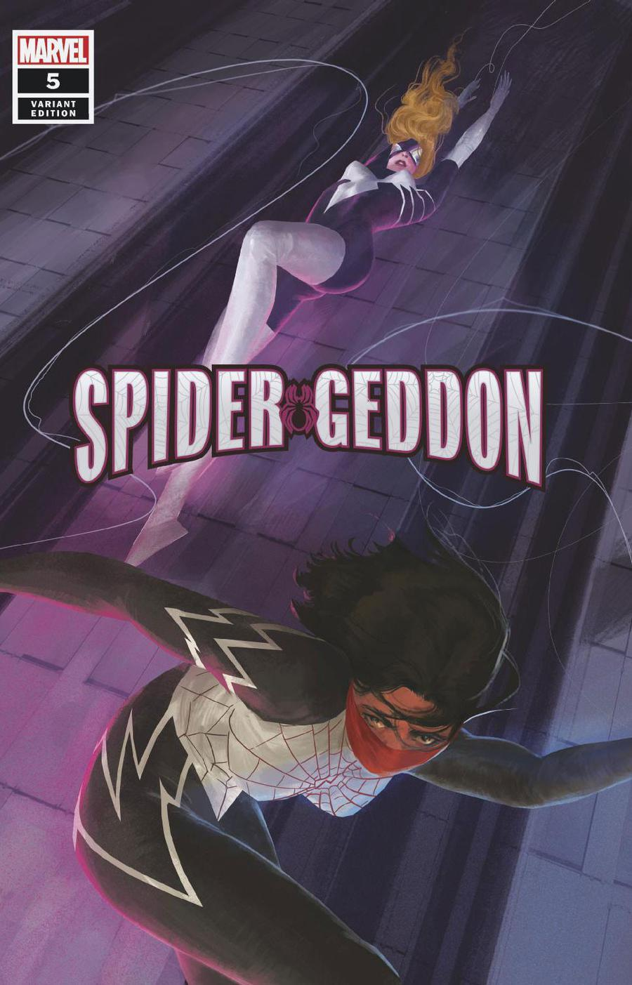 Spider-Geddon #5 Cover D Incentive Vanessa Del Rey Variant Cover (Spider-Geddon Tie-In)