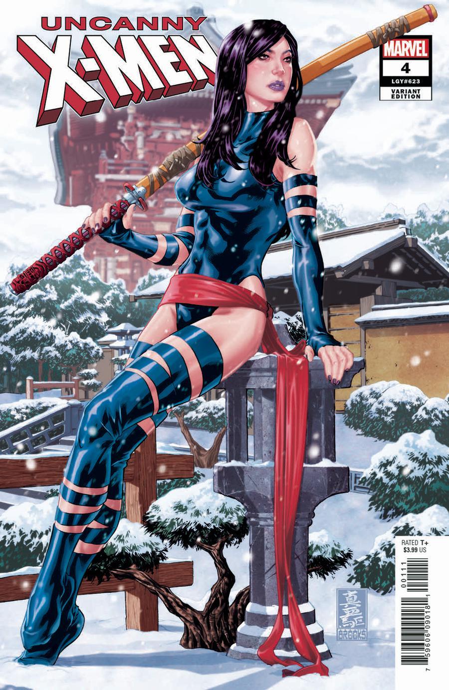Uncanny X-Men Vol 5 #4 Cover E Incentive Mark Brooks Hidden Gem Variant Cover