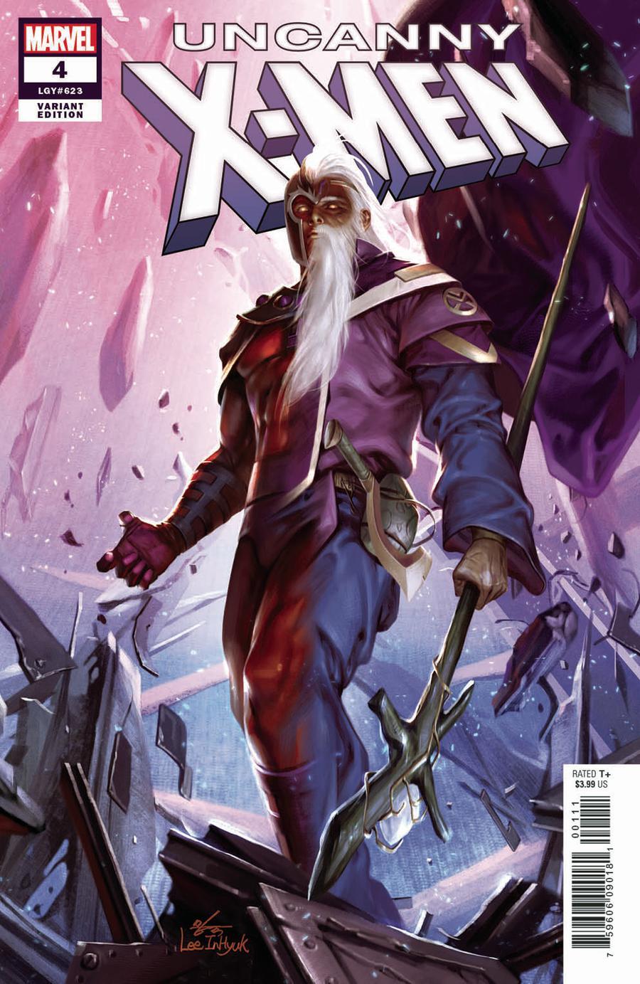 Uncanny X-Men Vol 5 #4 Cover D Incentive In-Hyuk Lee Variant Cover