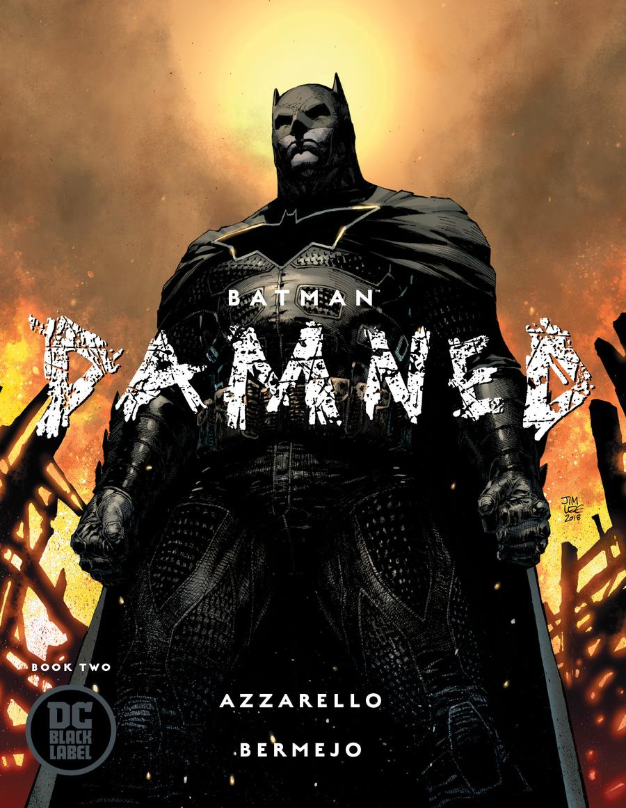 Batman Damned #2 Cover B Variant Jim Lee Cover