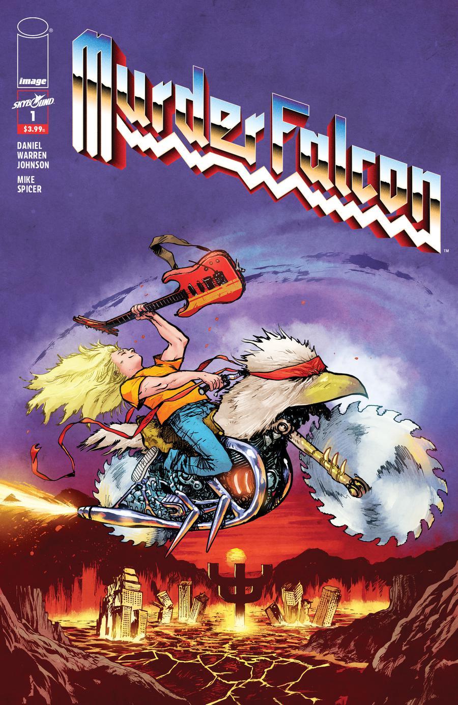 Murder Falcon #1 Cover B Variant Daniel Warren Johnson & Mike Spicer Heavy Metal Cover