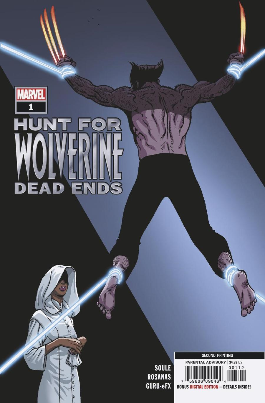 Hunt For Wolverine Dead Ends #1 Cover E 2nd Ptg Variant Ramon Rosanas Cover