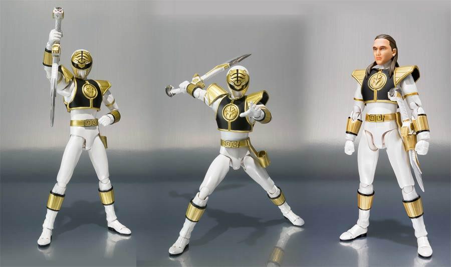 Sabans Power Rangers S. H. Figuarts - White Ranger Action Figure