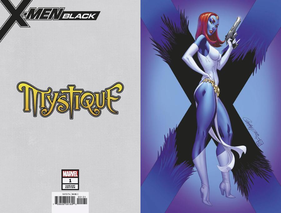X-Men Black Mystique #1 Cover C Incentive J Scott Campbell Virgin Cover