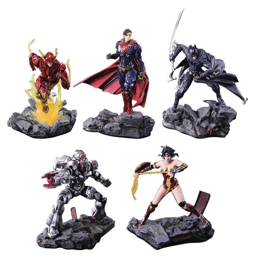DC Comics Variant Trading Arts Mini Figure Blind Mystery Box