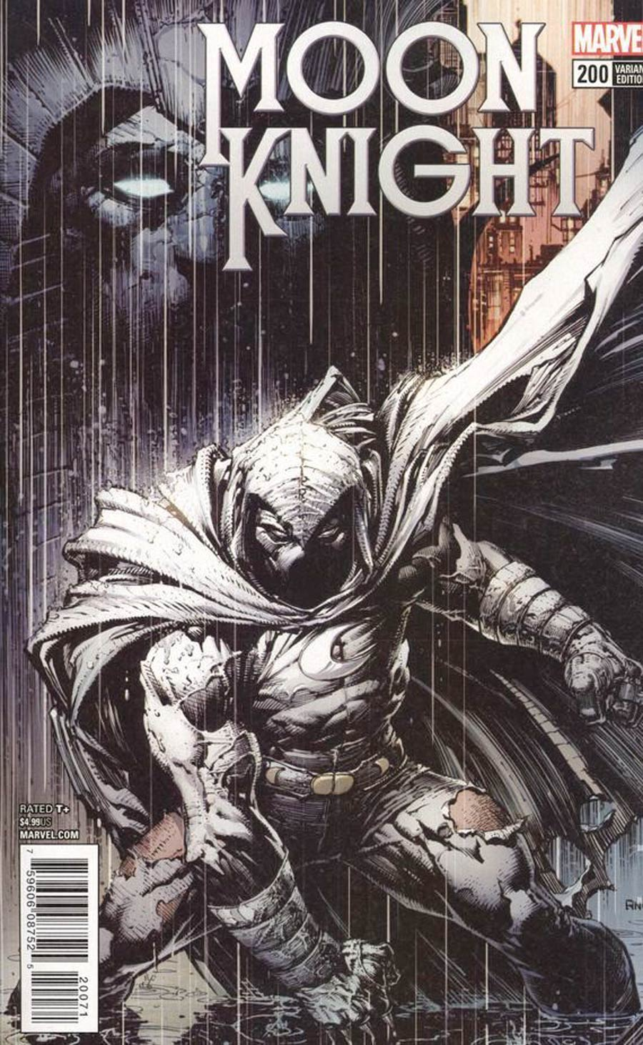 Moon Knight Vol 8 #200 Cover B Variant David Finch Cover