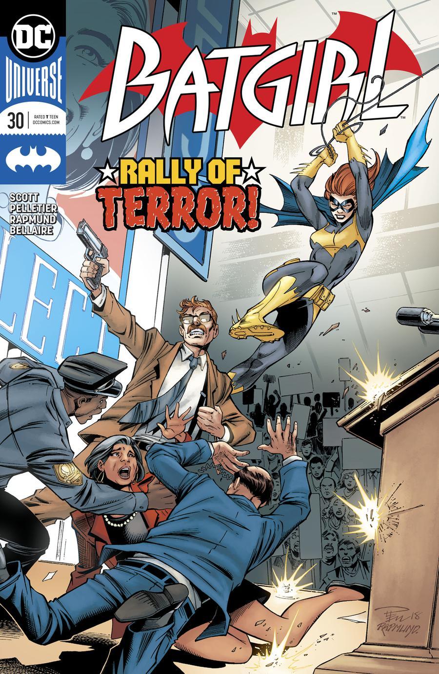 Batgirl Vol 5 #30 Cover A Regular Paul Pelletier & Norm Rapmund Cover
