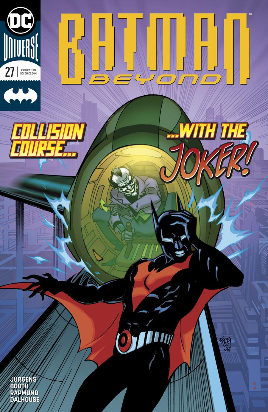 Batman Beyond Vol 6 #27 Cover A Regular Pasqual Ferry Cover