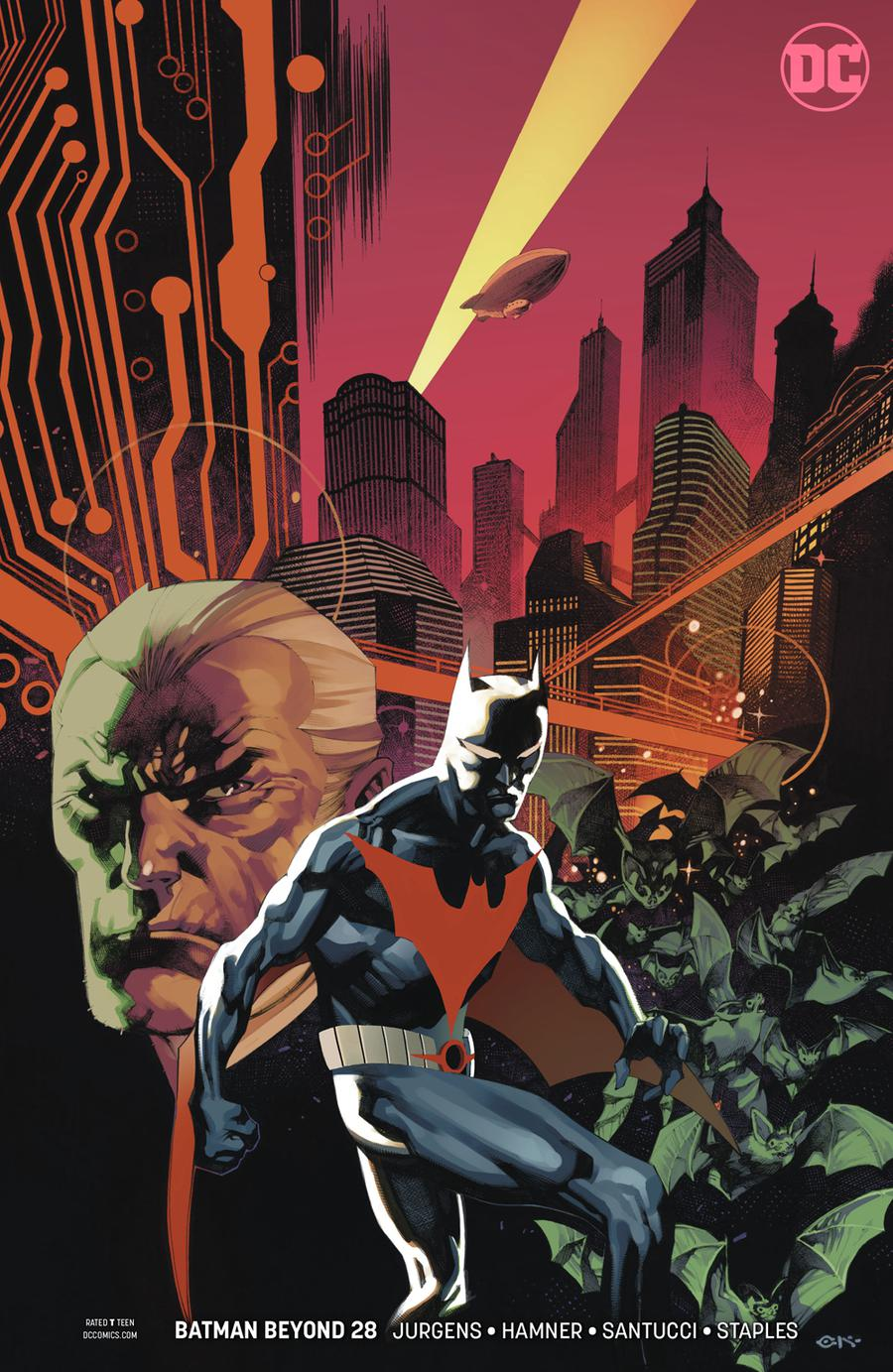 Batman Beyond Vol 6 #28 Cover B Variant Chris Stevens Cover