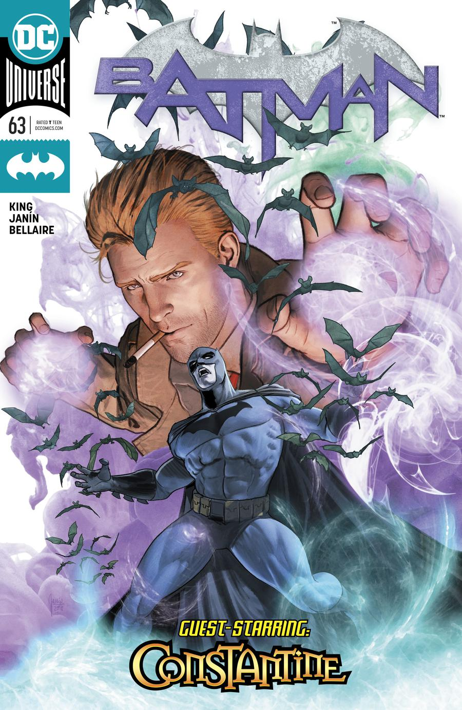 Batman Vol 3 #63 Cover A Regular Mikel Janin Cover