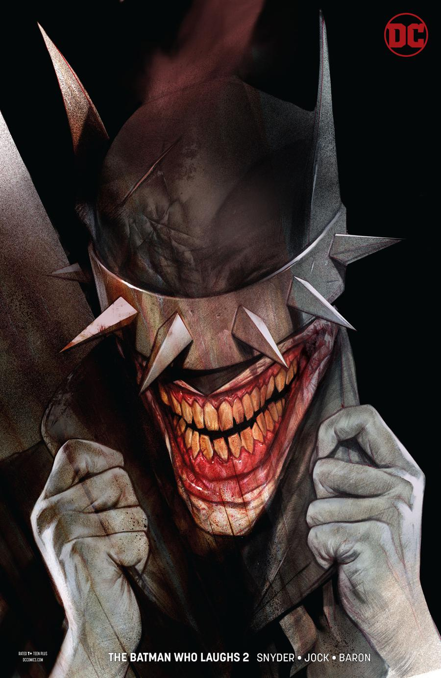 Batman Who Laughs #2 Cover B Variant Ben Oliver Cover
