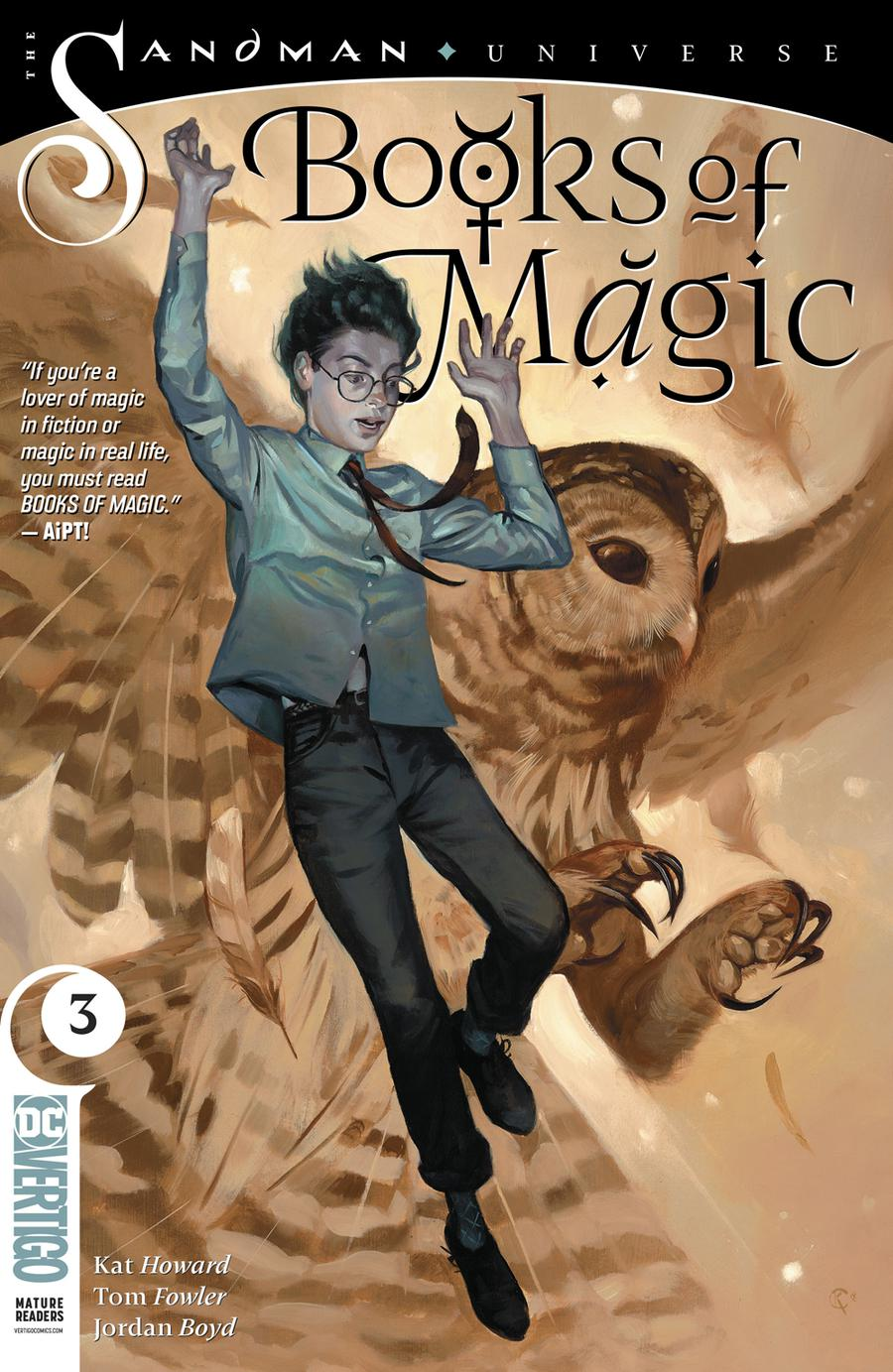 Books Of Magic Vol 3 #3