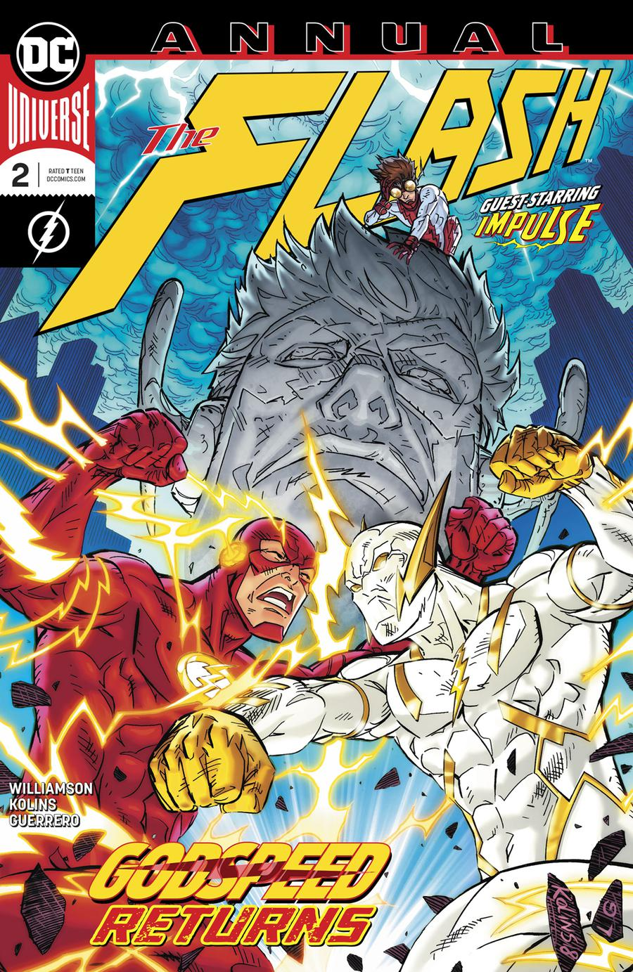 Flash Vol 5 Annual #2 (Heroes In Crisis Tie-In)
