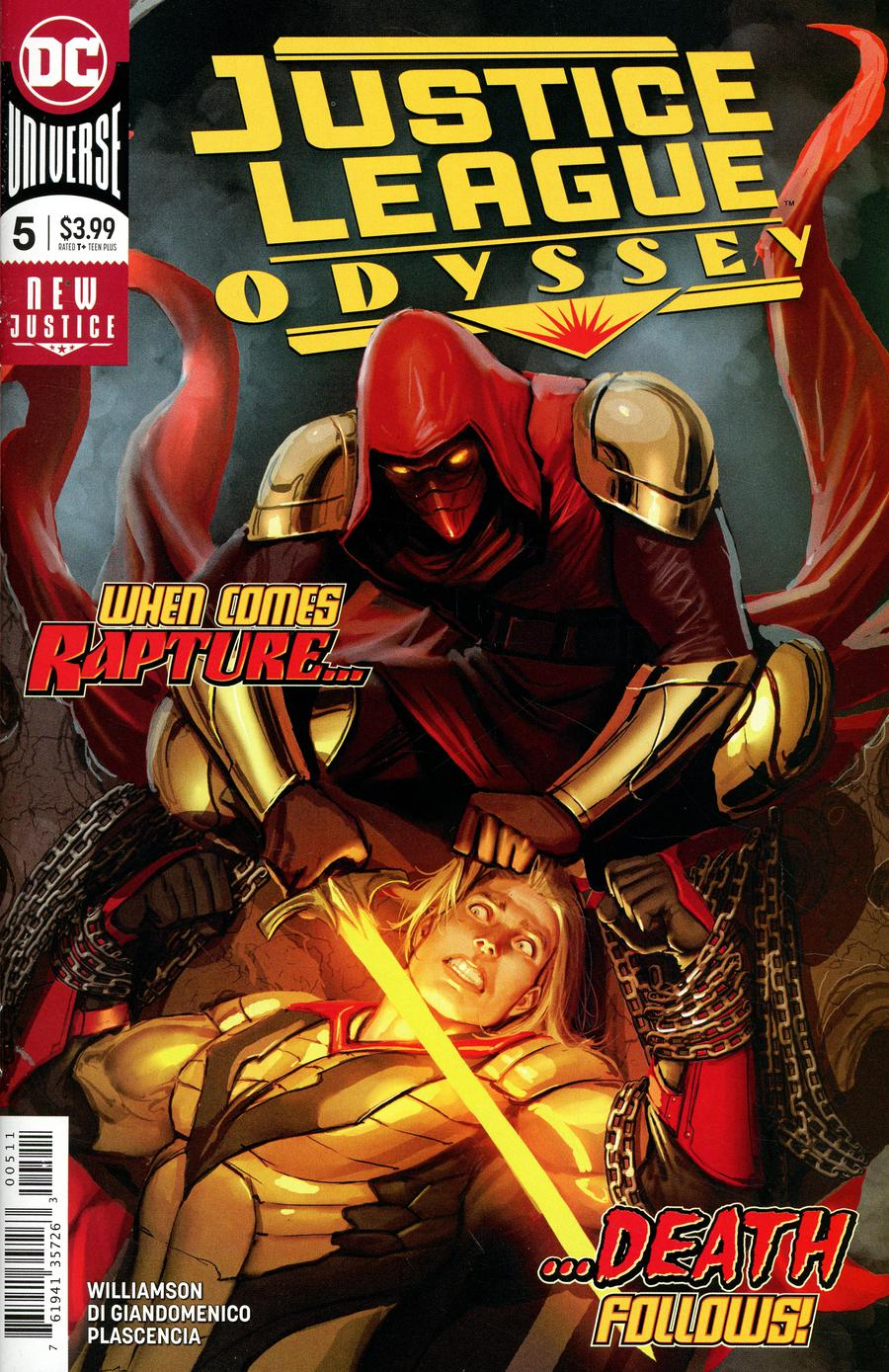 Justice League Odyssey #5 Cover A Regular Stjepan Sejic Cover
