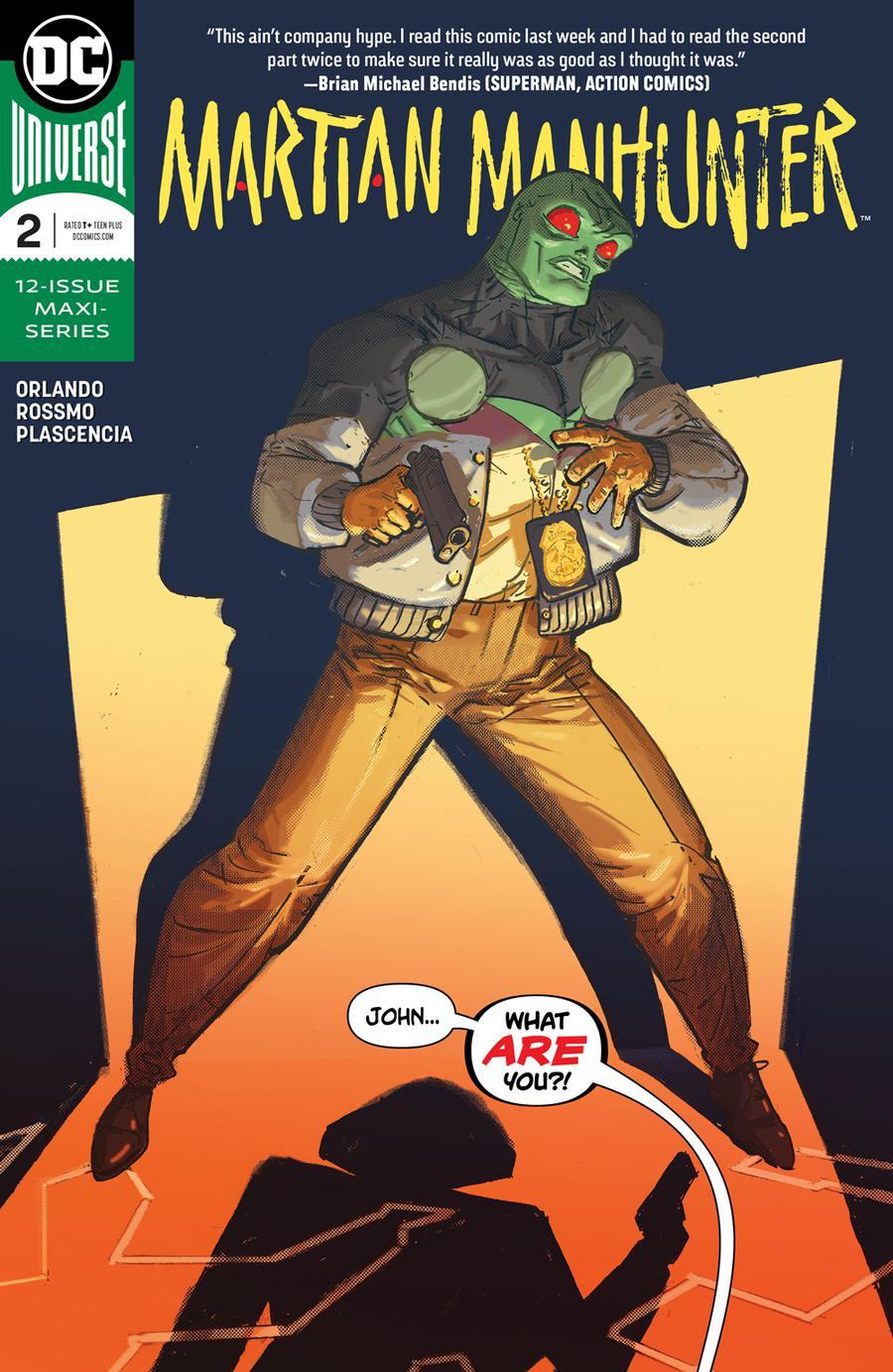 Martian Manhunter Vol 5 #2 Cover A Regular Riley Rossmo Cover