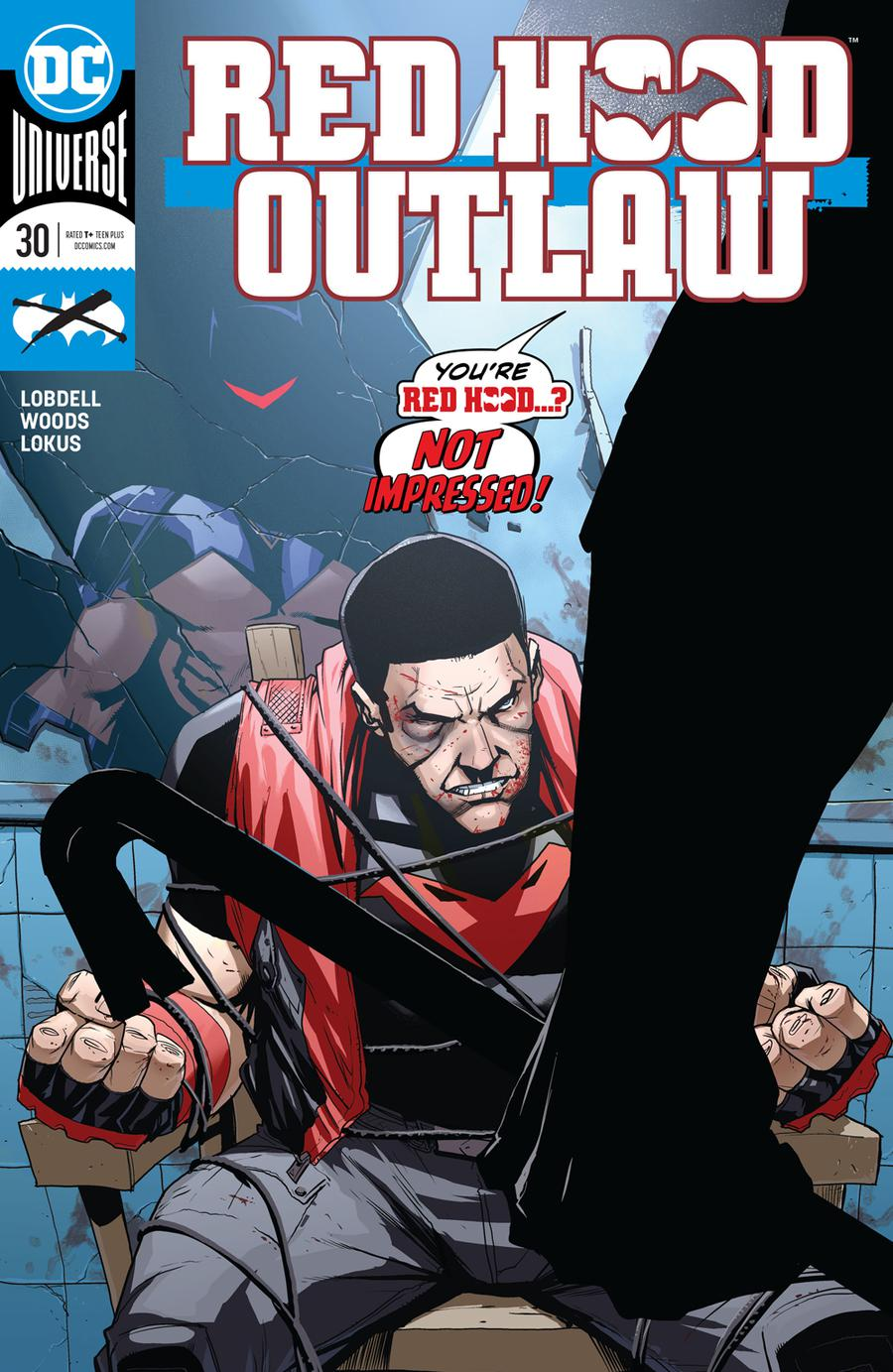 Red Hood Outlaw #30 Cover A Regular Pete Woods Cover
