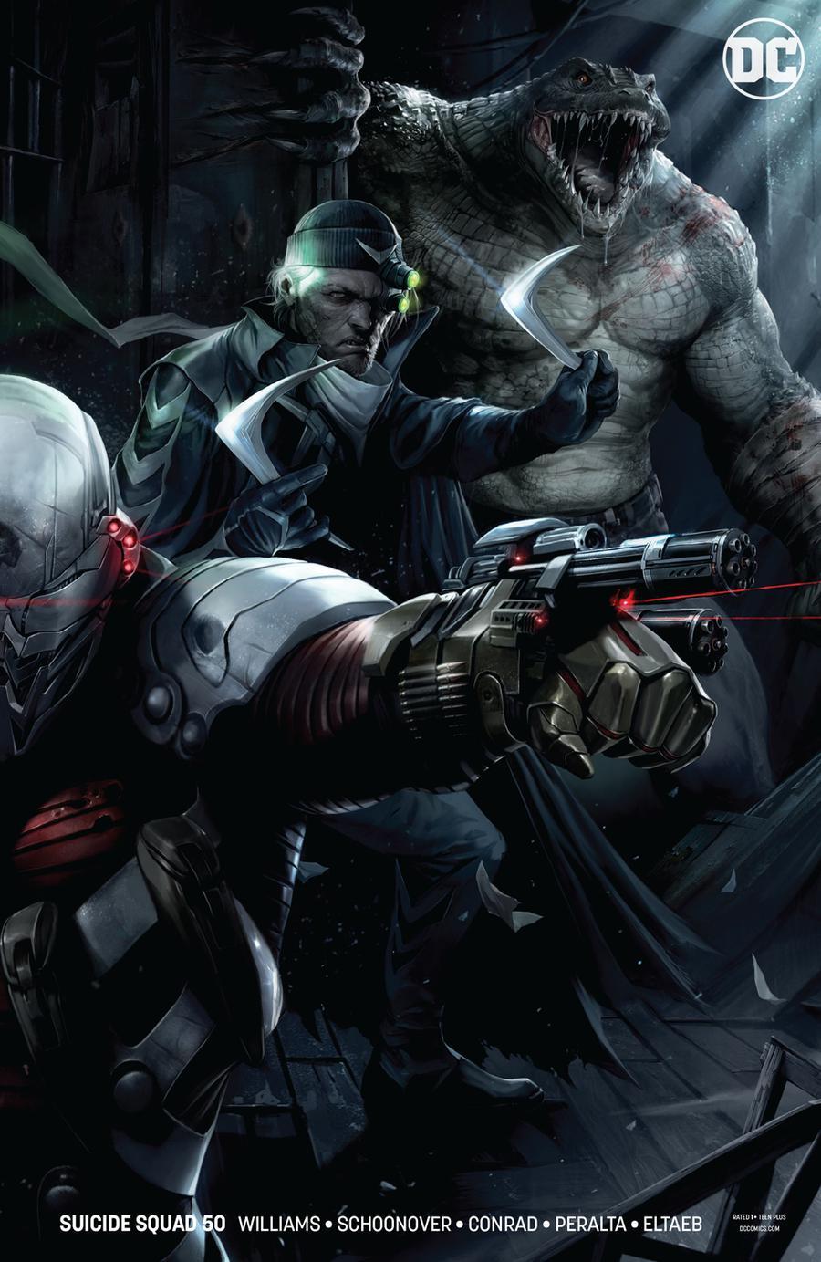 Suicide Squad Vol 4 #50 Cover B Variant Francesco Mattina Cover