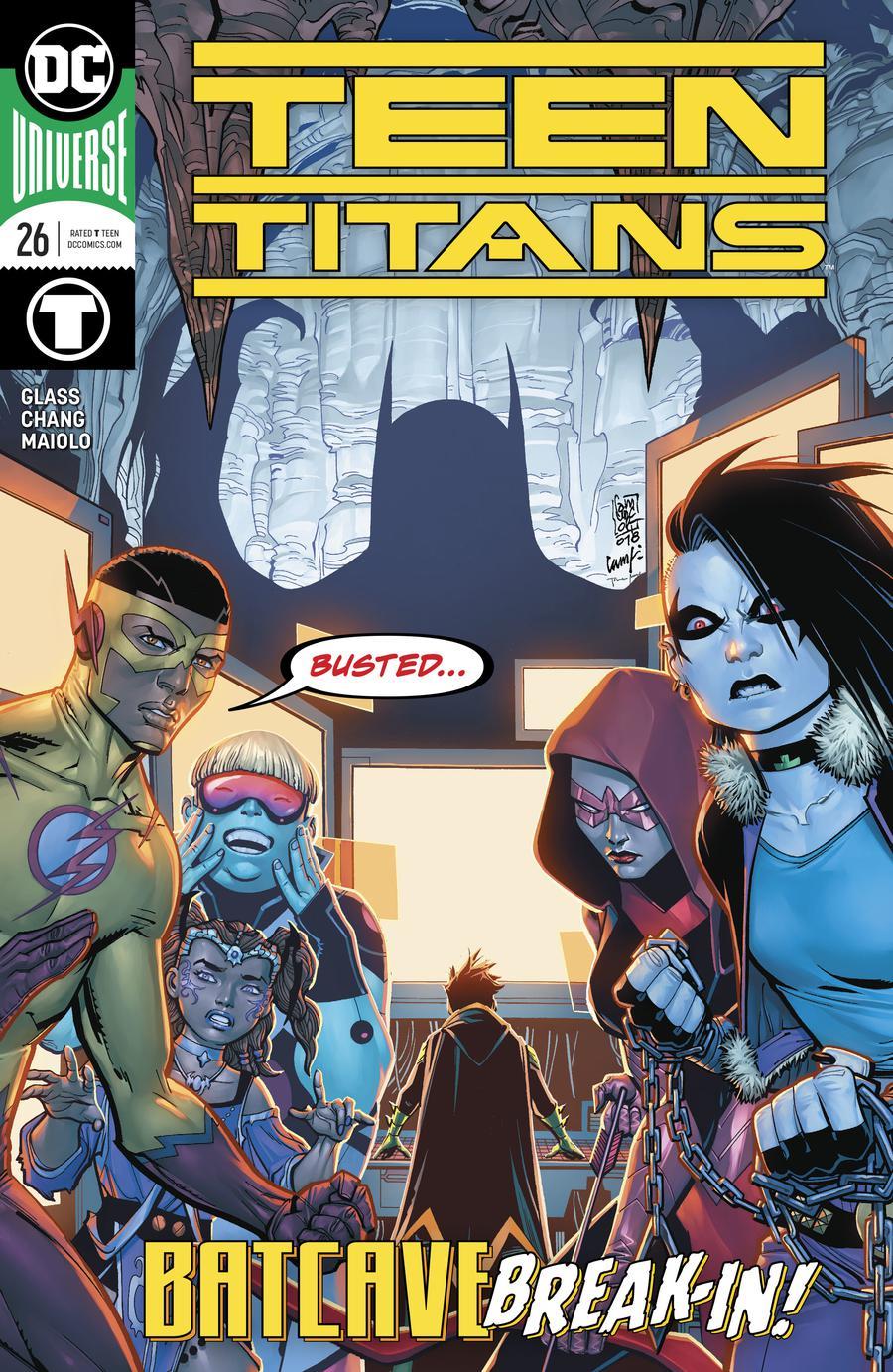 Teen Titans Vol 6 #26 Cover A Regular Giuseppe Camuncoli & Cam Smith Cover