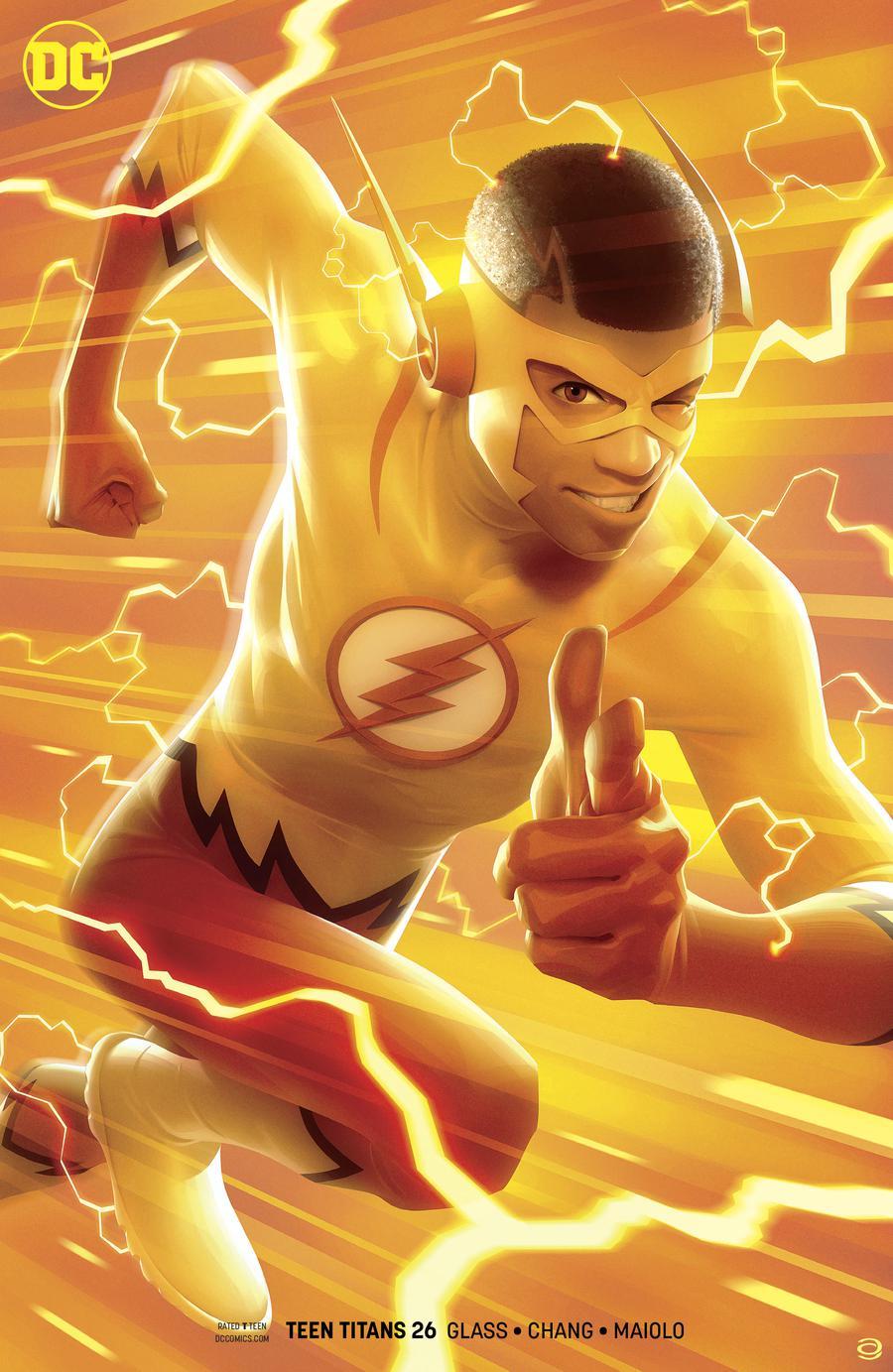Teen Titans Vol 6 #26 Cover B Variant Alex Garner Cover