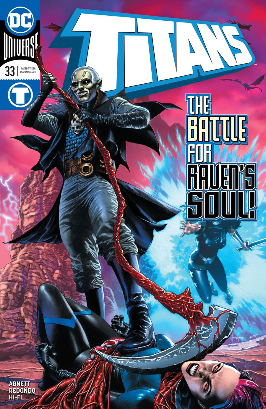 Titans Vol 3 #33 Cover A Regular Mico Suayan Cover
