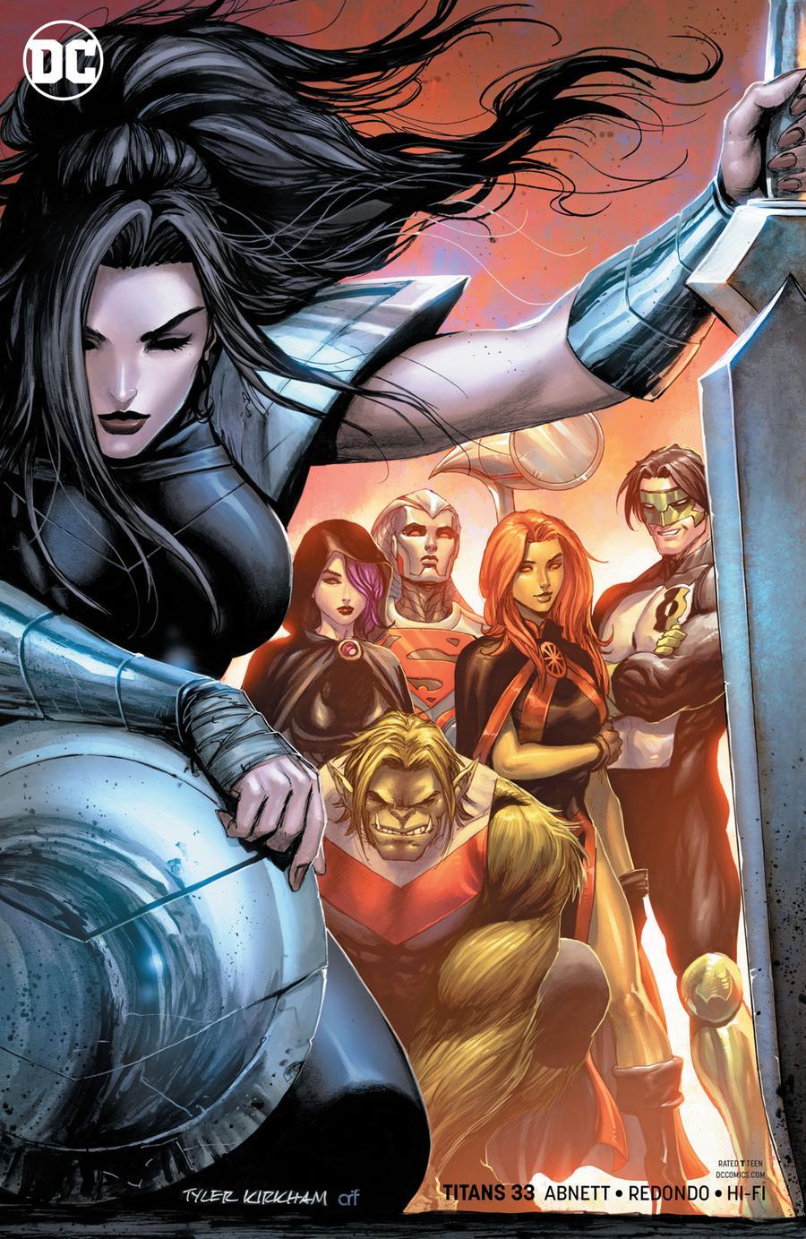 Titans Vol 3 #33 Cover B Variant Tyler Kirkham Cover