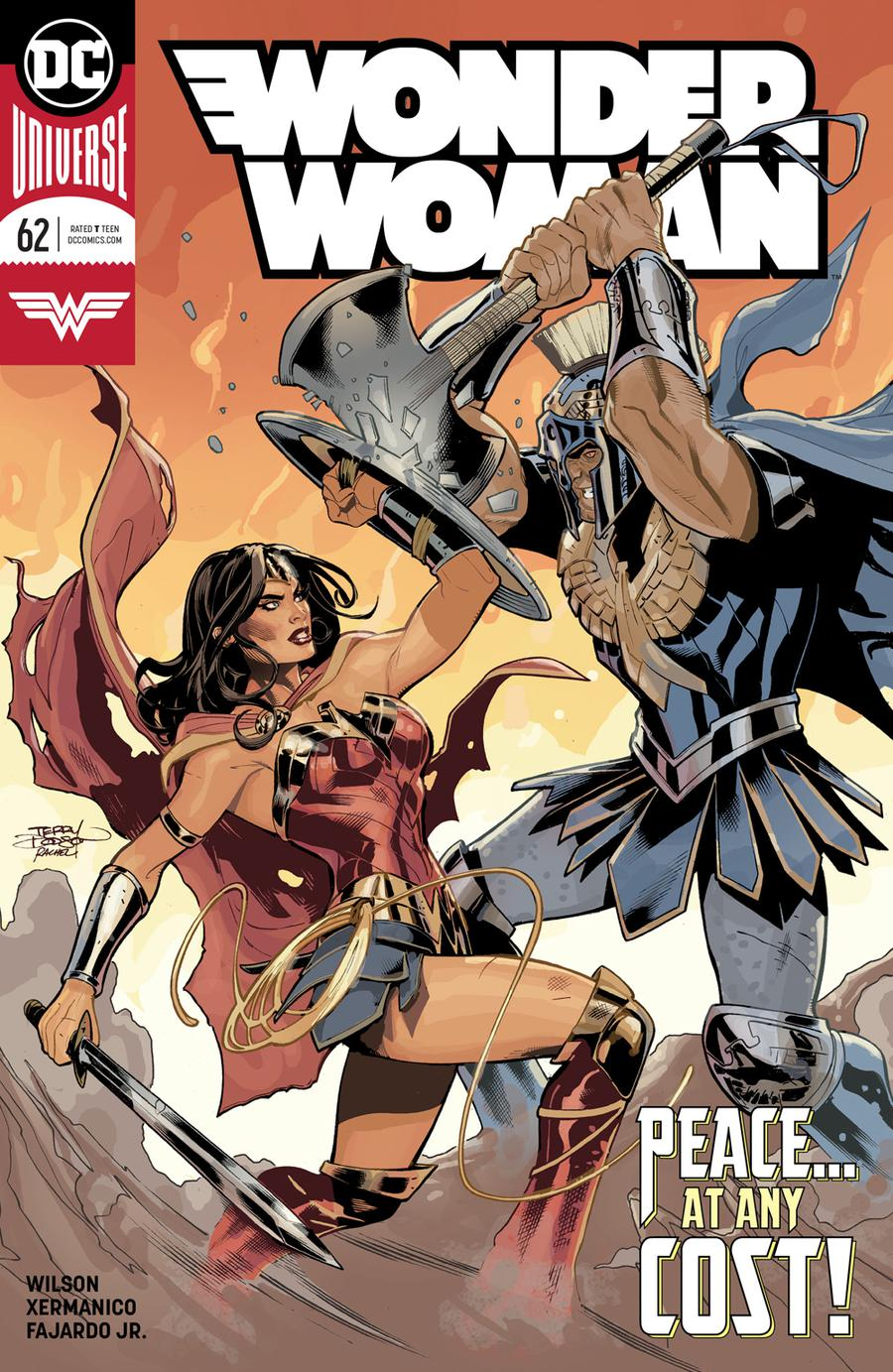 Wonder Woman Vol 5 #62 Cover A Regular Terry Dodson & Rachel Dodson Cover