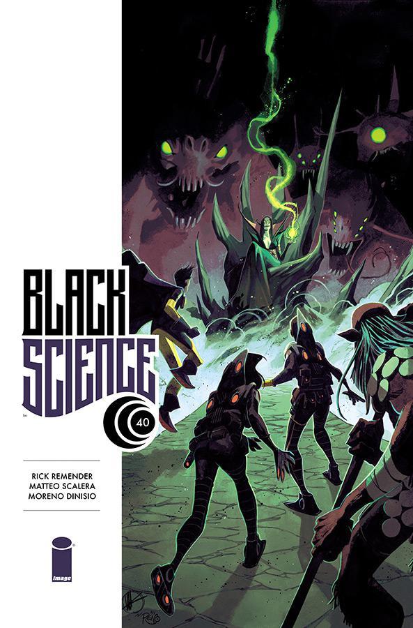 Black Science #40 Cover A Regular Matteo Scalera Cover