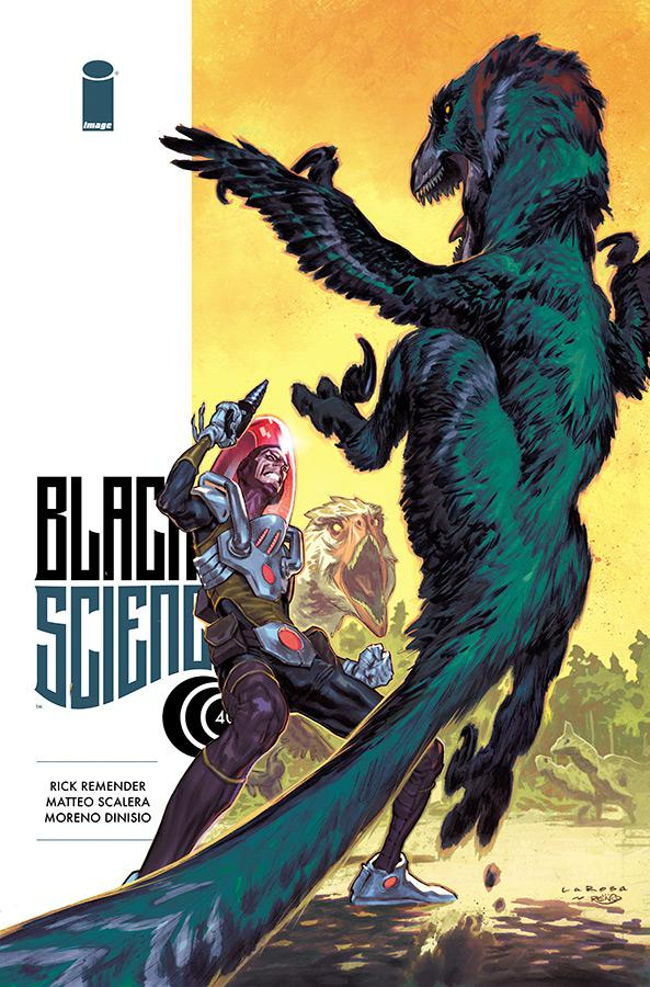 Black Science #40 Cover B Variant Lewis LaRosa Cover