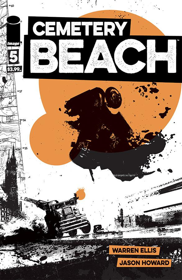 Cemetery Beach #5 Cover A Regular Jason Howard Cover