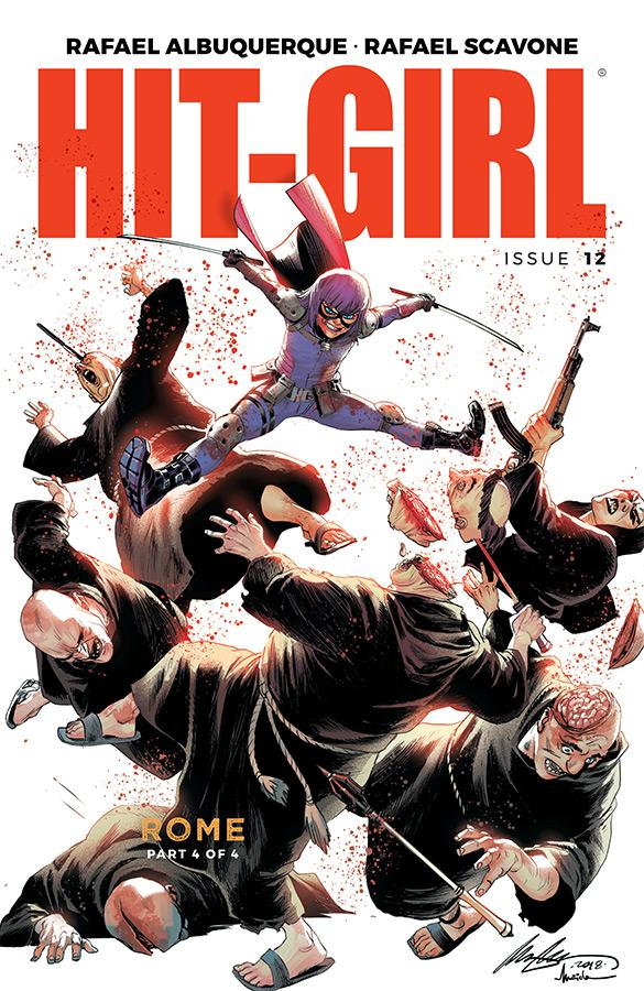 Hit-Girl Vol 2 #12 Cover A Regular Rafael Albuquerque Color Cover