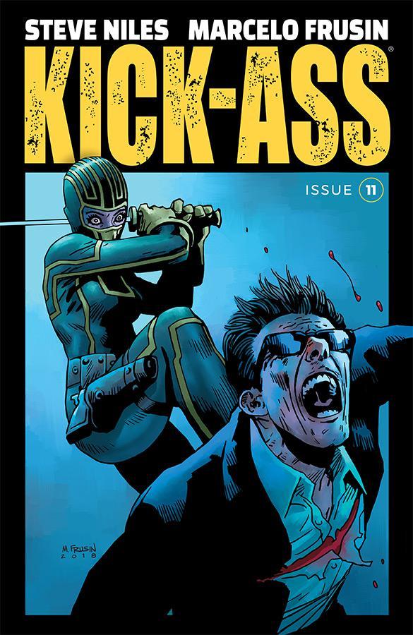 Kick-Ass Vol 4 #11 Cover A Regular Marcelo Frusin Color Cover