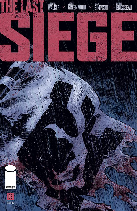 Last Siege #8 Cover A Regular Justin Greenwood Cover