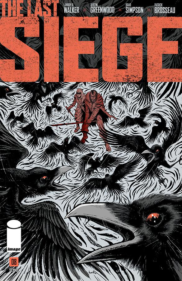 Last Siege #8 Cover B Variant Tom Neely Cover