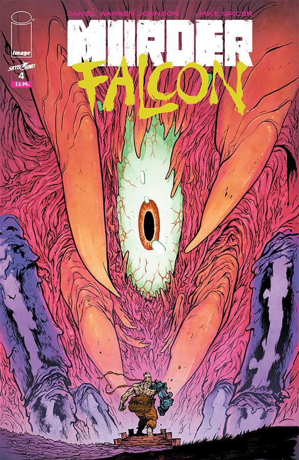 Murder Falcon #4 Cover A Regular Daniel Warren Johnson & Mike Spicer Cover